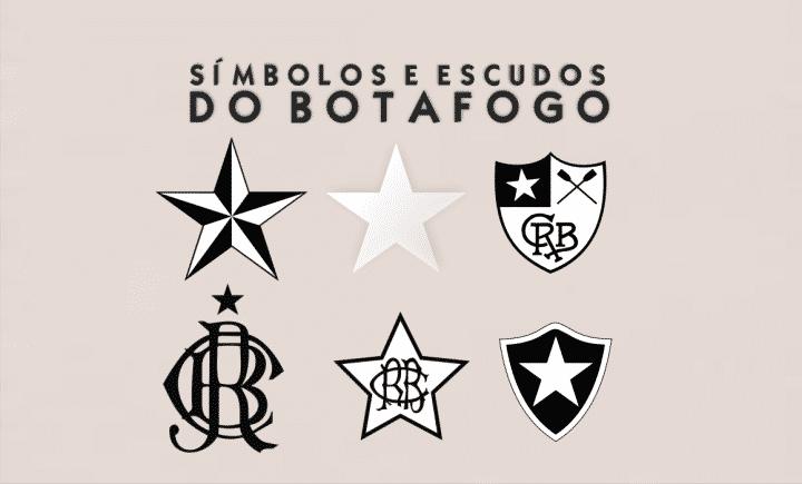 botafogo símbolos dos escudos