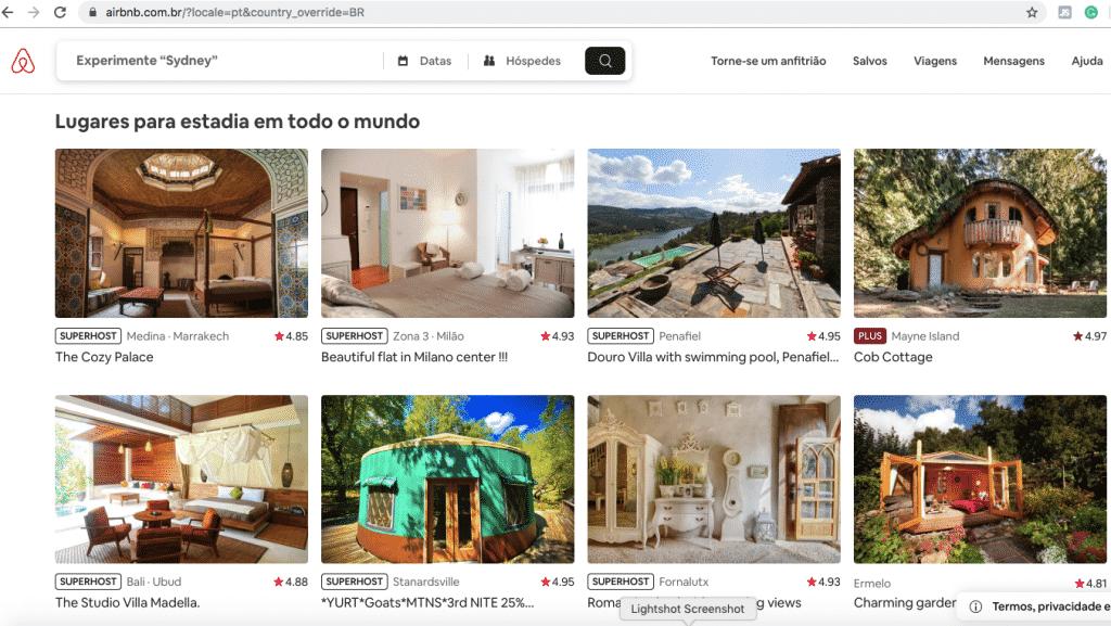 Airbnb casas