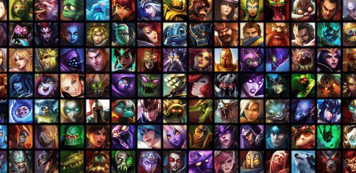 campeões do League of Legends