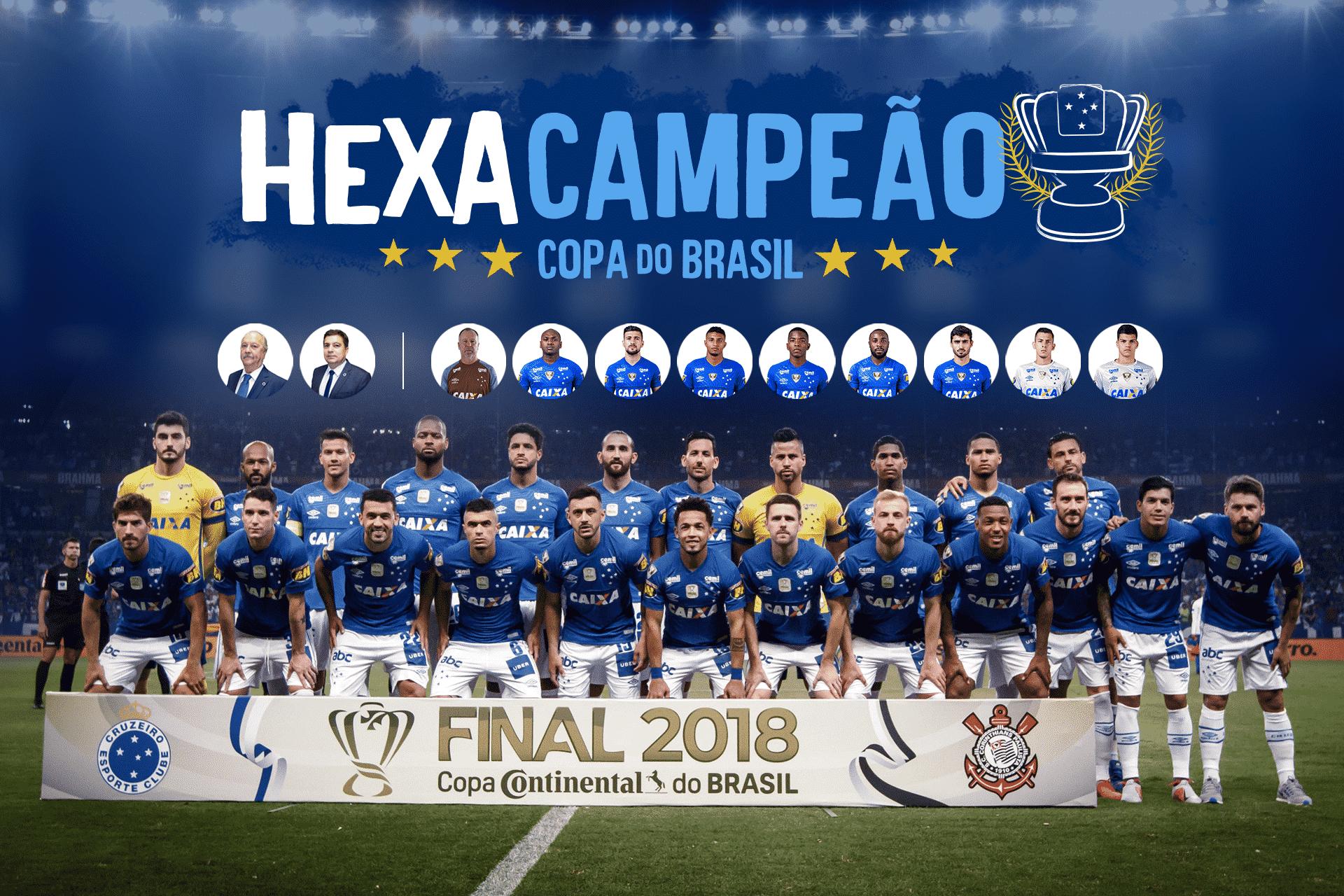 Cruzeiro - Hexacampeonato