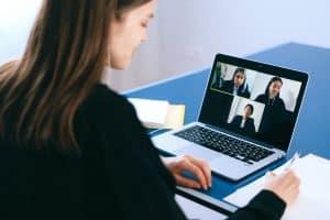reunião aplicativo
