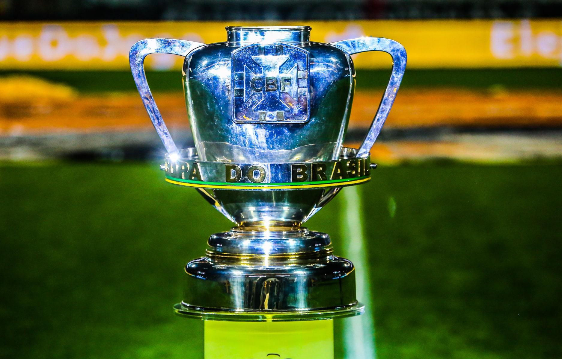 Taça da disputa Copa