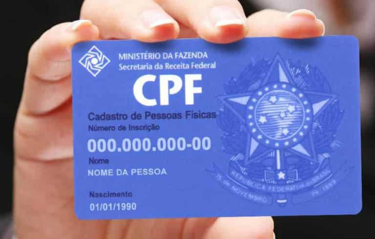 regularização CPF
