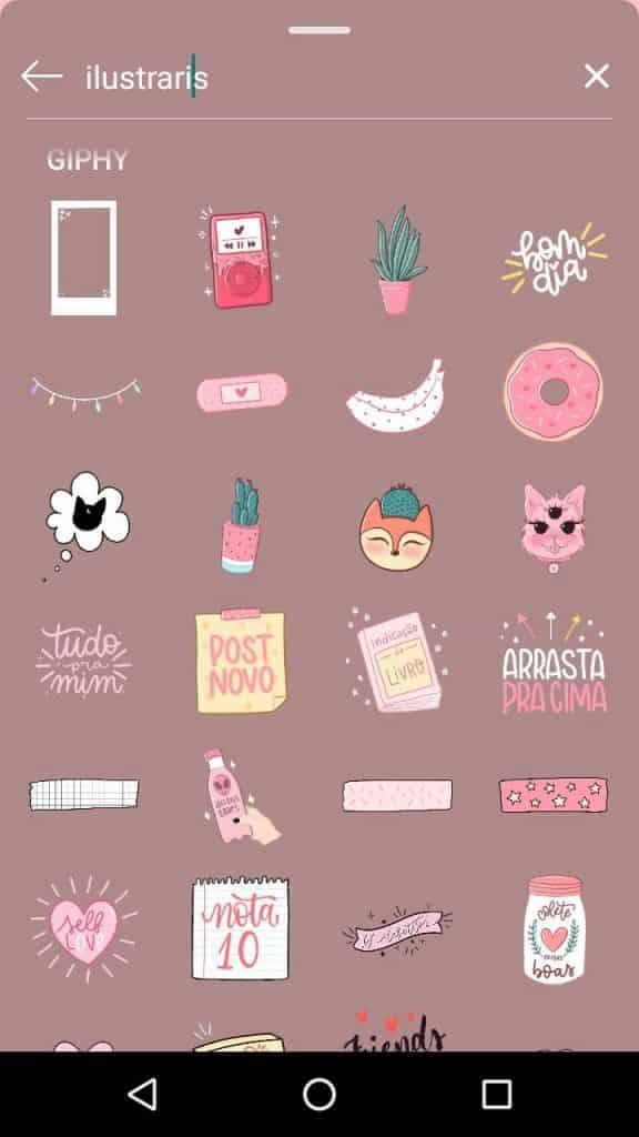 Stickers insta stories