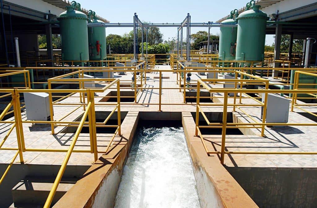 Tratamento de água da Sanepar